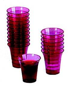 Purple Disposable Communion Cups