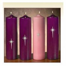 Advent Candles for Church / Chapel