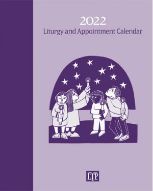 "Book with ""2022 Liturgy and Appointment Calendar"""