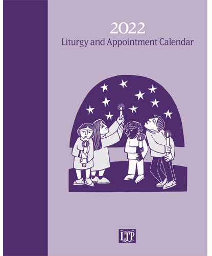 """Book with """"2022 Liturgy and Appointment Calendar"""""""